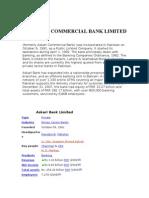 Askari Commercial Bank Limited