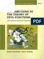 Contributions to the Theory of Zeta-Functions