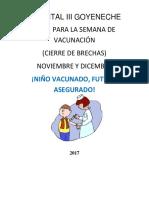 Campaña Nacional de Vacunación 26