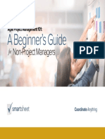 Agile SCRUM PM Beginners Guide Non Project Managers