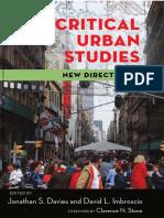 critical urban studies