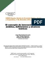 el concepto de innovacion social (revista CIRIEC españa)