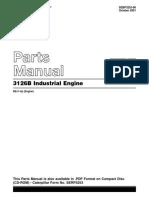 3126B parts manual.pdf | Vehicles | Transportation Engineering on