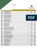Gran Oils Tabela de Preços Junho 2018 Atacado e Varejo