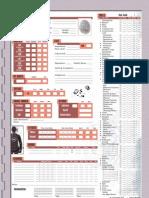 d20 Modern Character Sheet 1.3