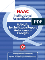 RAF Autonomous Institution Manual