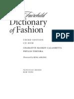 Fashion Dictionary Sample1