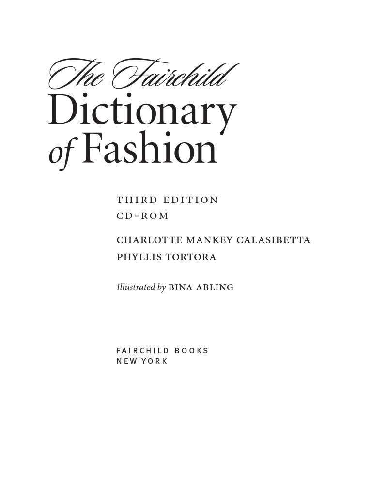 aa8a523a8c1ffb Fashion Dictionary Sample1