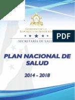Plan Nacional de Salud 2014 2018 Lanzamiento 9-07-14