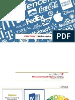 12. Mercadotecnia Estratégica y Branding