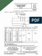 NBR 8074 PB 988 - Tubo Coletor de Fibrocimento Para Esgoto Sanitario - Dimensoes Das Pontas