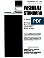Ashrae std110