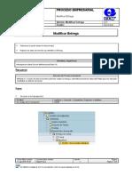 BPP SD VL02N Modificar Entrega