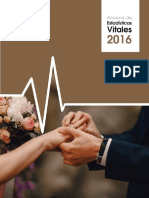 Anuario Estadisticas Vitales 2016