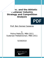 Nike Strategy Analysis- Final Jun 2010