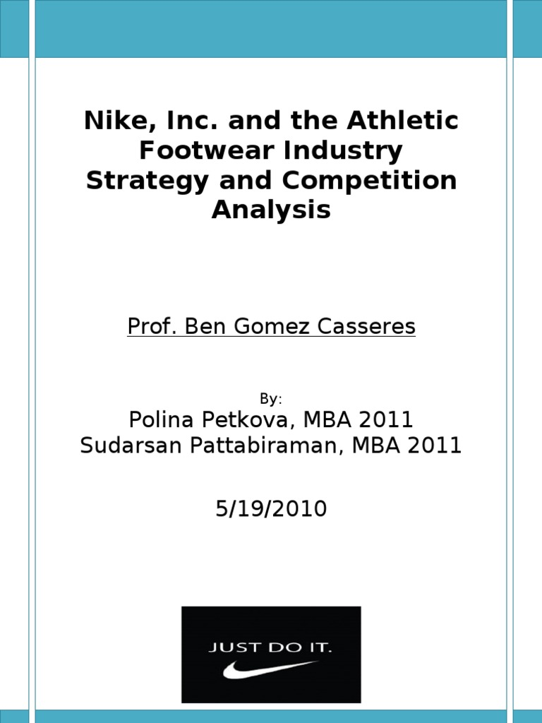 the analysis of nike in athletic
