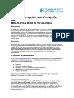 2017 CPI Technical Methodology Note ES