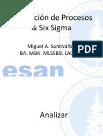 Analizar SESION six sigma