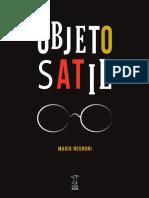 Fragmento Negroni-Objeto Satie