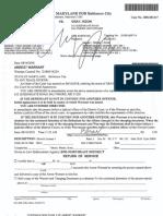 Keon Gray Warrant
