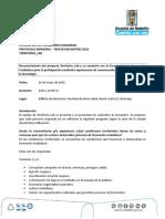 Protocolo Memoria 22.05.2018
