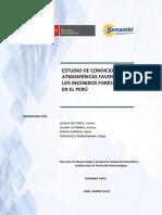 Estudio de Condiciones Atmosféricas Favorables a Los Incendios Forestales - SENAHMI