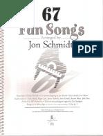 67 Fun Songs- Jon Schmidt