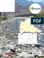 Modelamiento Hidrológico Jequetepeque - SENAHMI