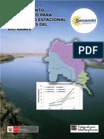 Modelamiento Hidrológico Rio Ramis - SENAHMI