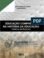 Livro Educação Comparada Na História Da Educação_ebook