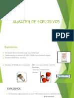 Almacenamiento de Explosivos