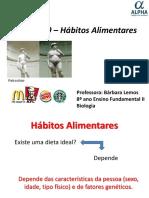 MUDANÇA DE HÁBITOS ALIMENTARES.ppt