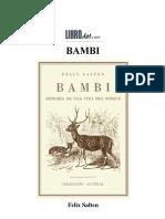 Salten Felix-Bambi Doc