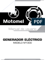 Manual de Usuario m1000
