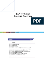 SAP is Retail Processing Overview