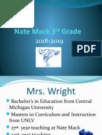 nate mack 3rd grade