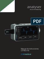Citrex h5 Manual ES Imtmedical