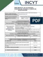 Informe Mensual Investigación-Agosto
