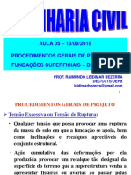 Aula 05-13-08-2018_Procedimentos Gerais de Projeto-Dim Blocos