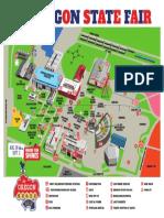 Oregon State Fair 2018 map