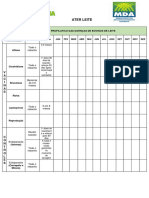 Calendário Profilatico Das Doenças de Bovinos de Leite