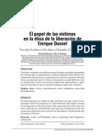 Rojas H _ El papel de las víctimas en la ética de la liberación.pdf