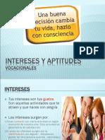 Intereses y Aptitudes Vocacionales