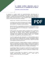 Validación de un método analítico alternativo para la cuantificación de hidralazina en un inyectable de 20 mg