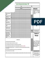 Checklist Ponte Rolante
