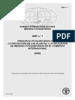 NIMF 1 FAO-IPPC