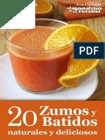 20 Zumos y Batidos Naturales y Deliciosos-Eva Cornejo Coba
