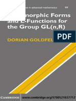 [Dorian Goldfeld] Automorphic Forms and L-Function