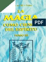 Julius Evola y Grupo Ur - La Magia como Ciencia del Espíritu (TOMO 3).pdf