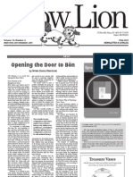 Bon Snow Lion Article